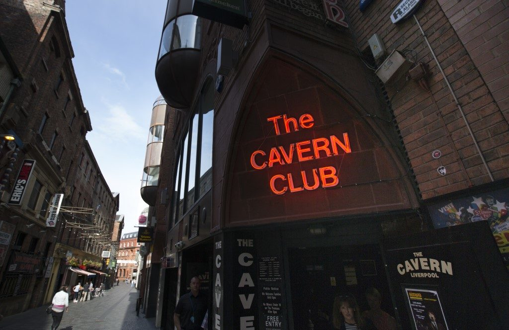 Image taken of the Cavern Club in Liverpool during the day