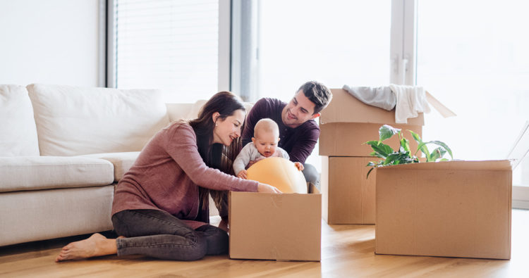 Moving house with children: Is it disruptive for newborns and toddlers?