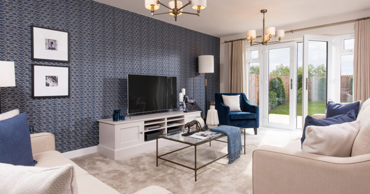 Top wallpapering tips for new build homes