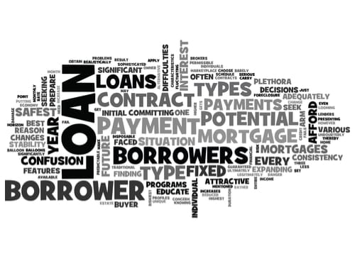 Decide what type of mortgage you want
