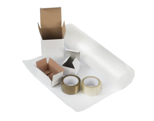 Stock up on packing supplies